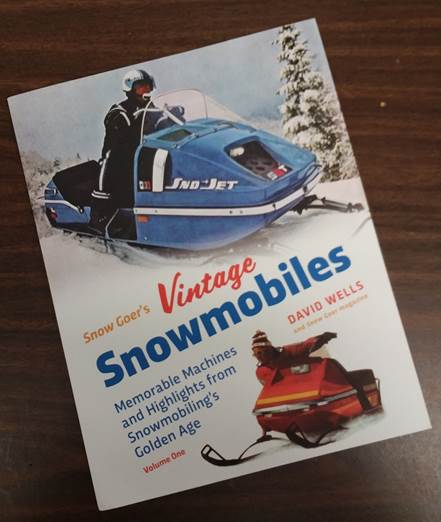 wells vintage snowmobile book cover